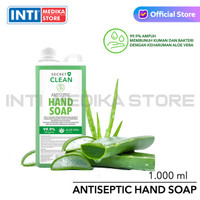 SECRET CLEAN - Hand Soap AntiSeptic 1 Liter | Sabun Cuci Tangan 1 L