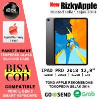 iPad Pro 12.9 2018 Wifi Only 512GB Pencil Garansi Apple 1 Tahun - Garansi IBOX, Wifi Only