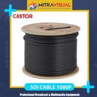 CASTOR S6 SDI Cable Suppport 1080P - Size RG6 (Lentur Full Serabut)