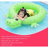 Kolam renang anak mandi bola anak dengan bentuk binatang Kolam bola - Buaya