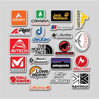 Best Seller Stiker Brand Outdoor//Stiker helm/Motor/ laptop/Smartphone