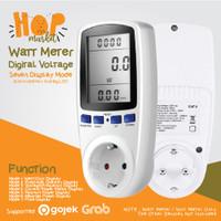 WATT METER AC KWH Voltmeter Pengukur Power Daya Listrik Ukur Biaya PLN
