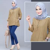 Baju Atasan Wanita Muslim Lengan Panjang Terbaru Murah Premium