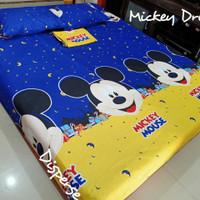 120x200 sprei mickey mouse murah/