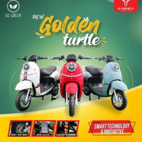 Sepeda motor listrik uwinfly golden turtle (72V20AH)