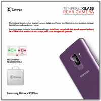 Samsung Galaxy S9 Plus - Copper Tempered Glass Kamera