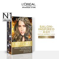 L'Oreal Paris Excellence Fashion Hair Color - #7.17 Matt Ash
