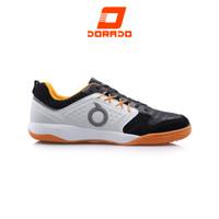 Ortuseight Jogosala Penumbra Sepatu Futsal - Black Off White Ortrange