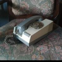 pesawat telepon putar antik unik jadul retro