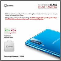 Samsung Galaxy A7 2018 - Copper Tempered Glass Kamera