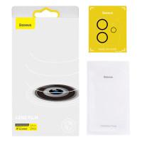 Baseus Full frame Anti gores Lensa Kaca Kamera iPhone 12 Mini Pro Max - iP12Mini
