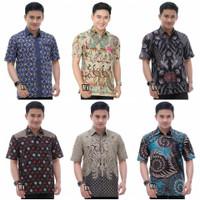 Baju Batik Pria Modern Kekinian / Baju Batik Kondangan Pernikahan Pria