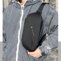 Tas Selempang Pria Waistbag Waterproof - Waist Bag Soulgate Original