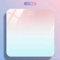 Timbangan Badan Digital Motif Pelangi/Rainbow