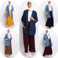 Baju Atasan Wanita Le Najwa Bioblitz Jaket Jeans Denim