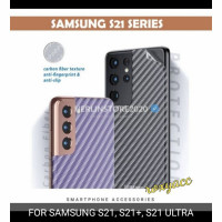 anti gores belakang Samsung s21 s21 plus s21 ultra garskin 3D carbon