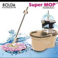 Alat Pel Super Mop BOLDe KOMODO - Pengering Bisa Diangkat - SuperMop