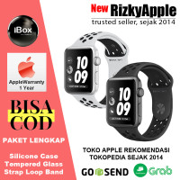 Apple Watch Nike+ Series 3 GPS Aluminum Gray + Black Sport Band 38MM