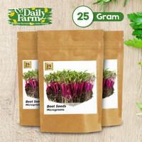 Benih Sayur Microgreens Beet Seeds ( 25 Gram )