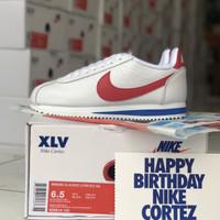 Sepatu Nike Cortez XLV Forrest Gump White Red Blue BNIB 1:1 Original