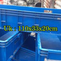 Bak plastik wadah ikan kontener plastik hidroponik container plastik