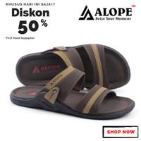 Sandal Selop Alope H 6 Sandal Pria Sendal Kulit Sandal cowok sandal