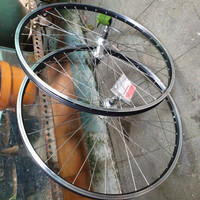 Wheelset 26 araya freehub 7 speed rims hitam