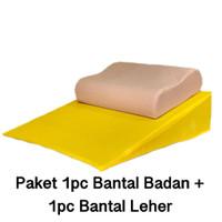 Bantal Badan Asam Lambung/Gerd + Bantal Leher Moimedic