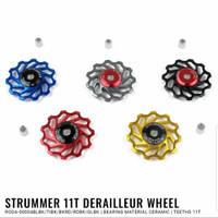 pulley rd strummer ceramic bearing alloy 7075 11T