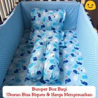 Bumper Box Baby Busa 3cm Bantalan Tepi Untuk Melindungi Bayi