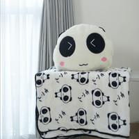 Bantal Selimut (BALMUT) Shy Panda