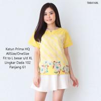 Atasan Blouse Baju Batik Wanita Jumbo Fit XL Blus Polkadot Cewek Katun