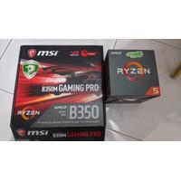 AMD Ryzen 5 1500X & MSI B350M Gaming Pro