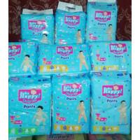 Popok Bayi Baby Happy Pants M34 L30 XL26 XXL24 Tipe Celana