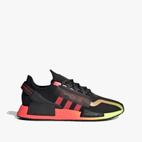 Adidas NMD_R1 V2 Men's Sneakers Shoes - Core Black/Signal Pink/Signal