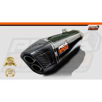 Prospeed Exhaust All New CBR K45 G / 2021 Shark Black New Series