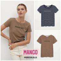 MANGO • Kaos T-Shirt Wanita Original Branded