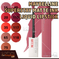 Maybelline Superstay Matte Ink Liquid Lipstick Liquid Matte Makeup
