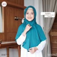 Hijab anak/syari/New Khimar Nuria by Azkia hijab,free cadar/masker