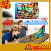 Thomas & Friends Cave Collapse Track Master Train Mainan Anak Kereta