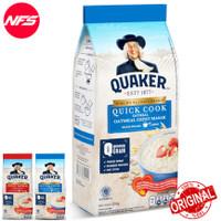 QUAKER Oats Oatmeal 200 gr-Instant-Quick Cook Bag Pouch Kecil Refill