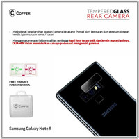 Samsung Galaxy Note9 - Copper Tempered Glass Kamera