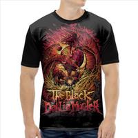 Baju Kaos music The Black Dahlia Murder Black metal art BIG SIZE