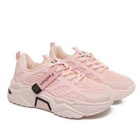 sepatu sneaker wanita fhasion Korean press fsh06 - salem, 37