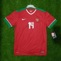 Indonesia Home AFF 2016 Jersey Original baju bola timnas asli