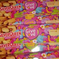 cokelat silverqueen 65gr edisi valentine / cokelat love / promo