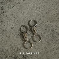 Zip Earrings / Anting (unisex)