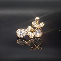 Anting lucu bentuk Kelinci lapisan emas Xuping warna gold