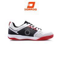 Ortuseight Jogosala Penumbra Sepatu Futsal - White Black Ortred - 42