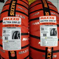 ban motor XMAX MAXXIS VICTRA S98 uk 120/70-15 & 140/70-14 tubeless